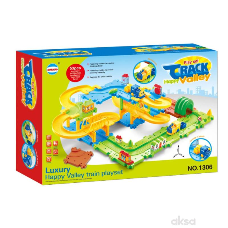 HK Mini igračka, vozni park - srećna dolina