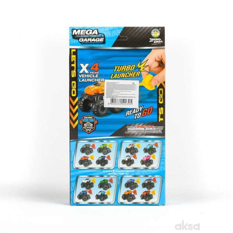 Hk Mini, igračka set autića na potezanje