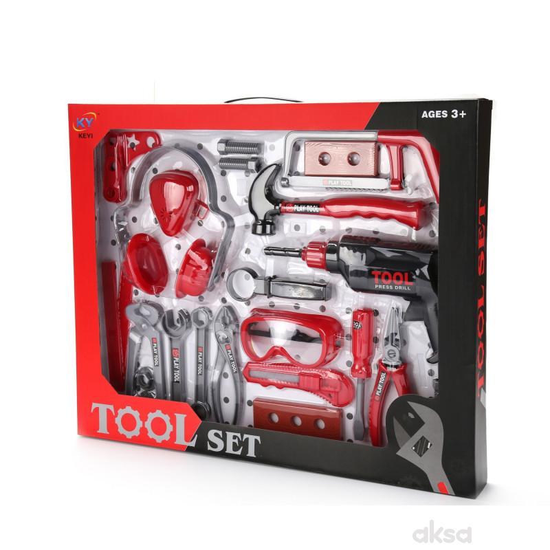 HK Mini igračka alat - set sa naočarima
