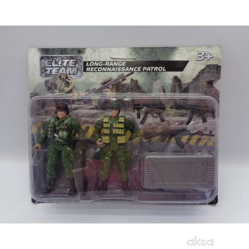 HK Mini igračka, vojnički set - izviđačka patrola