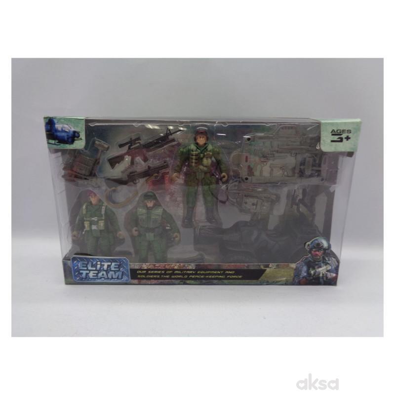 HK Mini igračka, vojnički set-elitna jedinica