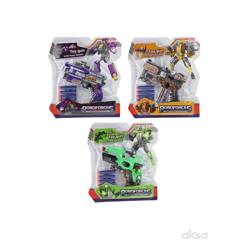 Transformers Robot Pistolj NaMuniciju