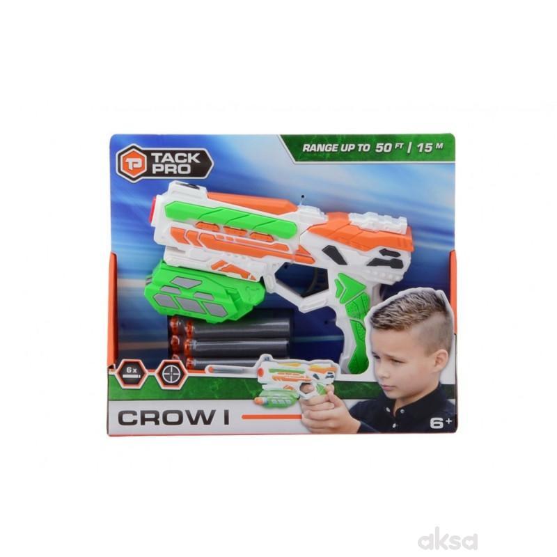Tack Pro Shooter Pistolj 18cm sa 6 metaka