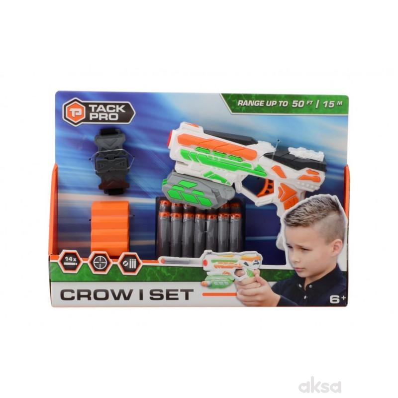 Tack Pro Shooter Pistolj 18cm sa dodacima