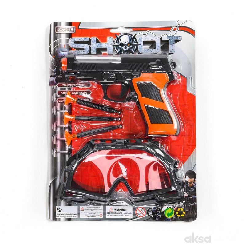 Hk Mini, igračka pištolj i naočare