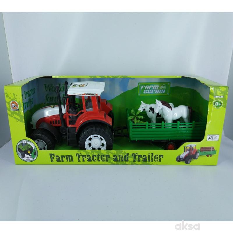 HK Mini igračka traktor sa životinjama