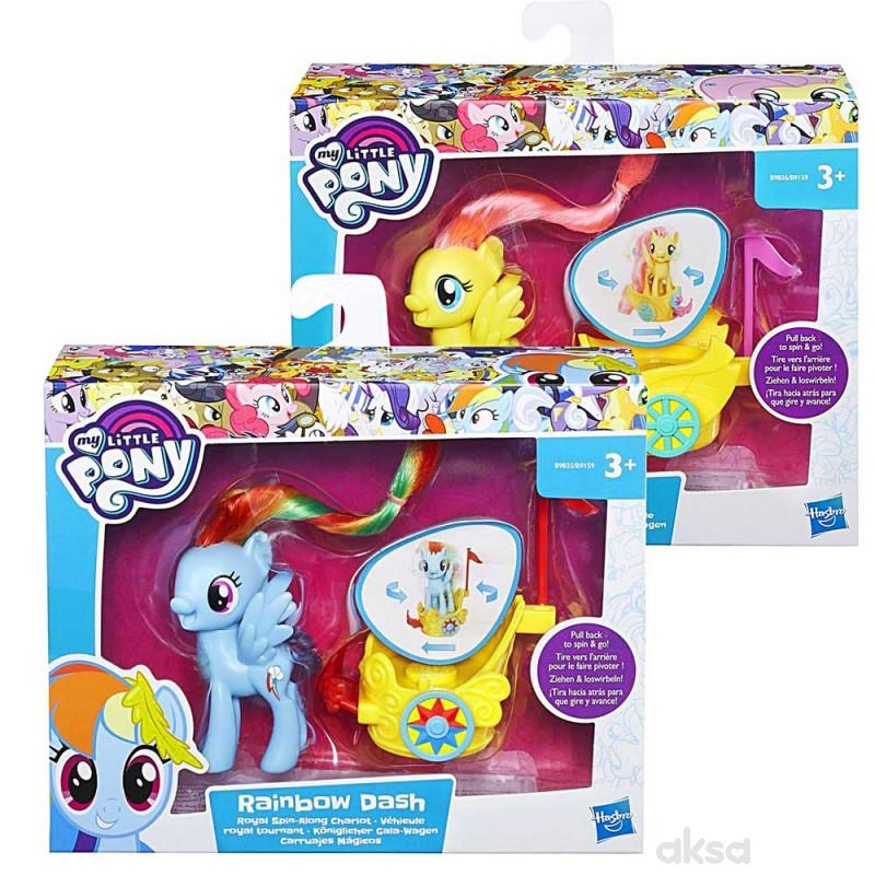 My little pony royal spin along chariots