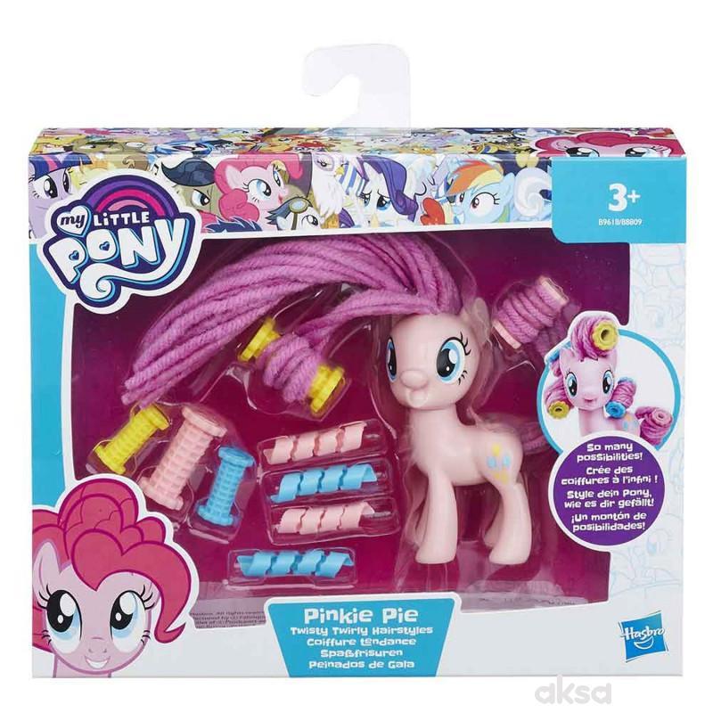 My little pony twirly hair styles