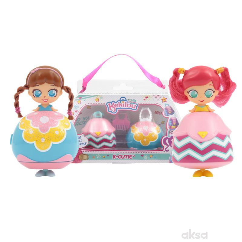 Kekilou igračka lutka Chloe+Mya, double