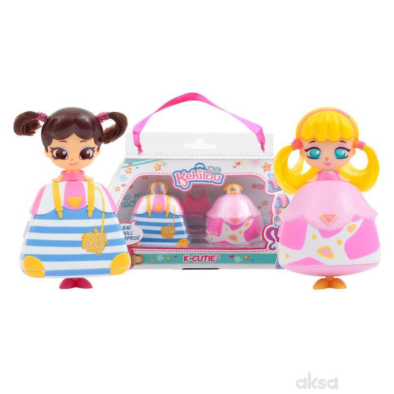 Kekilou igračka lutka Birky + Alyssa, double