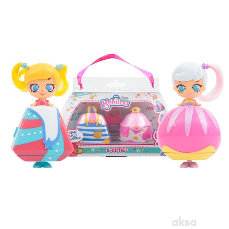 Kekilou igračka lutka Jewel + Britney, double