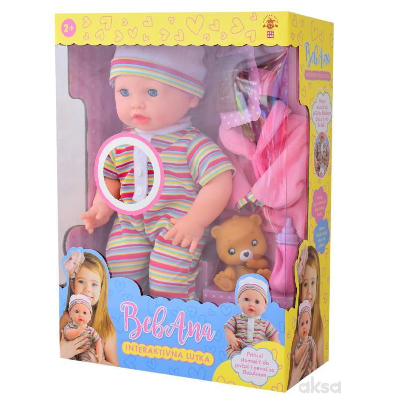 Interaktivna lutka beba BEBANA