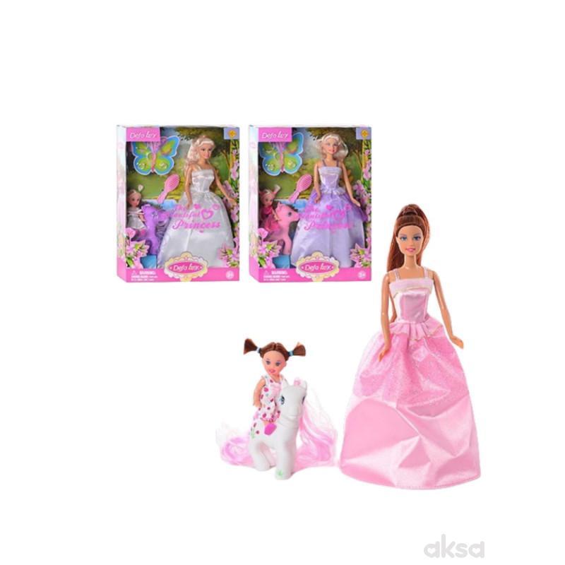 Defa Lutka u svecanoj haljini sa ponijem
