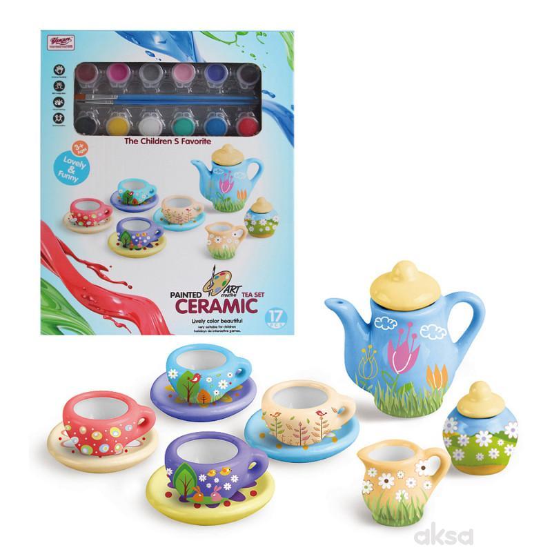 Qunsheng Toys, igračka dizajniraj set za čaj