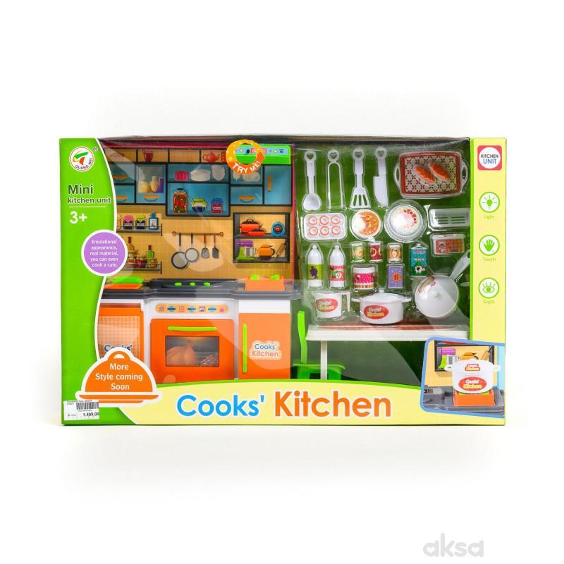 Qunsheng Toys, igračka kuhinja za lutke