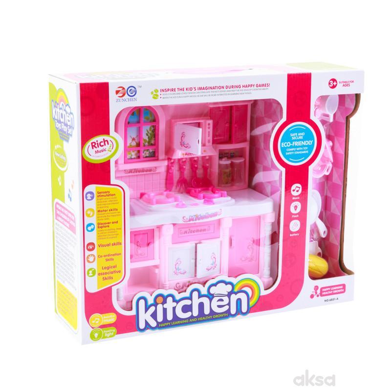 HK Mini kuhinjski set sa svetlom i muzikom