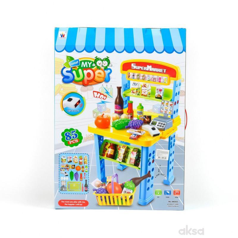 HK Mini igračka supermarket