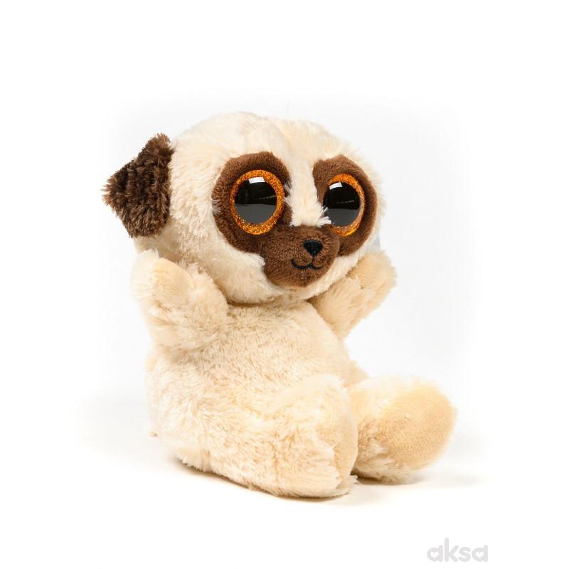 Keel Toys plišana igračka Animotsu Pug, 15 cm