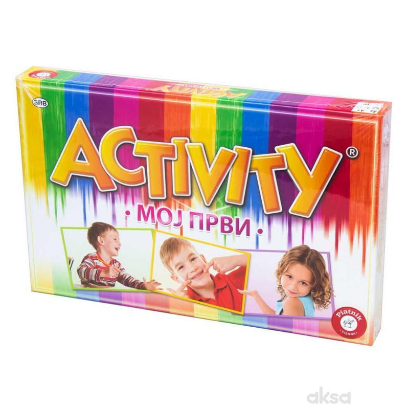 Piatnik moj prvi activity društvena igra