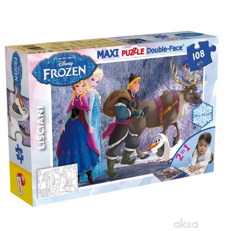 Lisciani Slagalica Maxi Frozen 108pcs