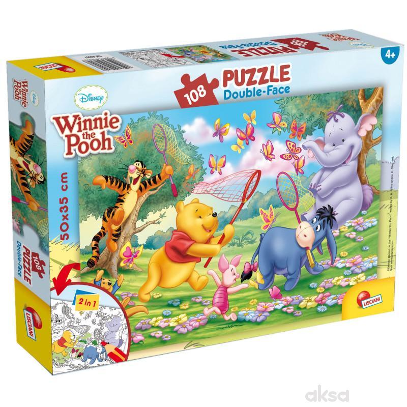 LiscianiWinnie The Pooh 2u1 složi i108pcs