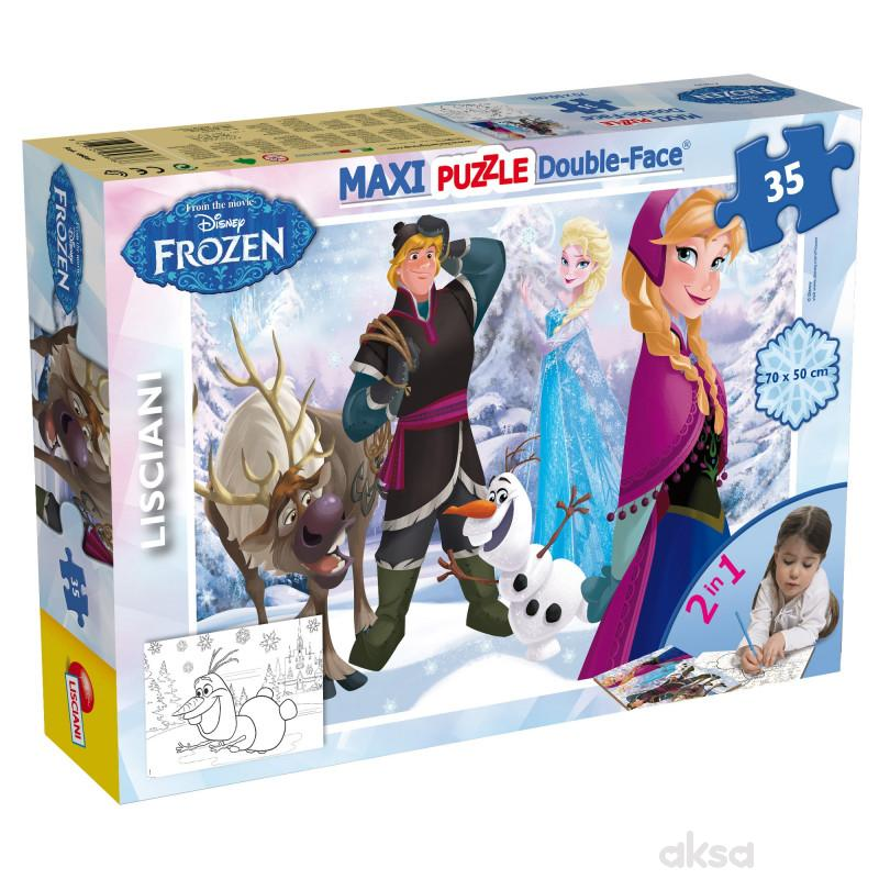 Lisciani35pcs Maxi Frozen Playing