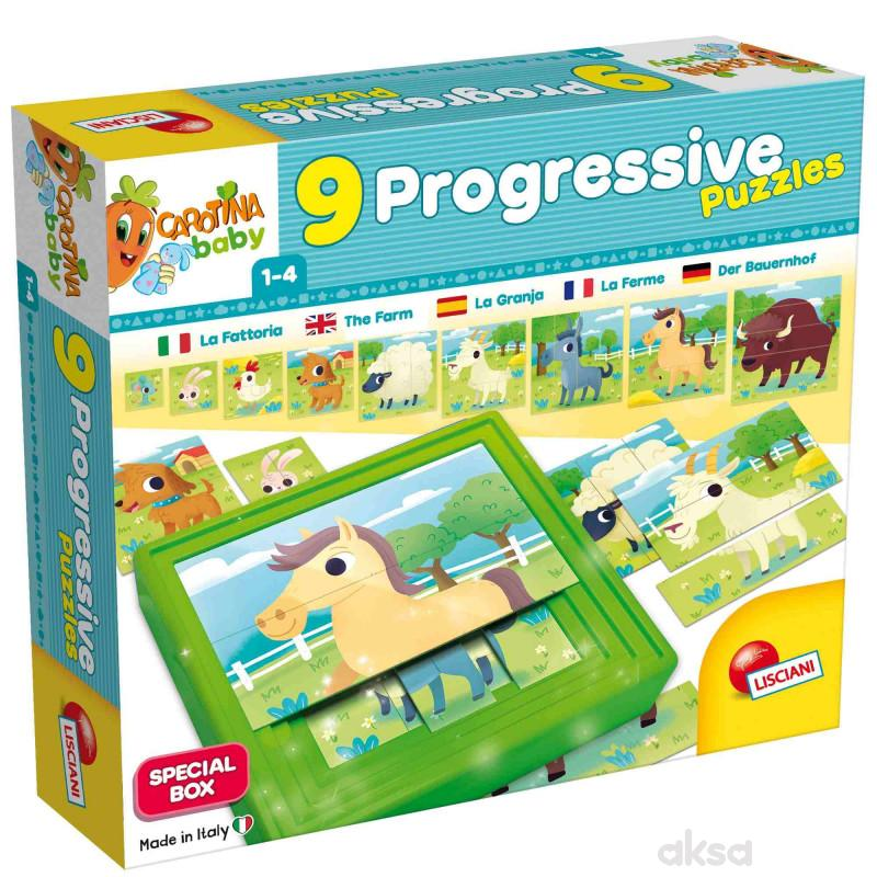 Lisciani 9Progresive baby Farma