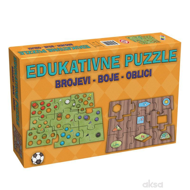 Pikom edukativne puzzle 5714