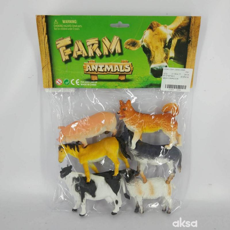 HK Mini igračka životinje u kesici - farma