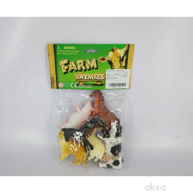 HK Mini igračka domaće životinje u kesici
