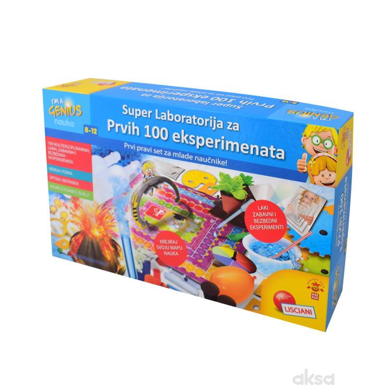 Mali Genije Sr Edukativna Igra Laboratorija