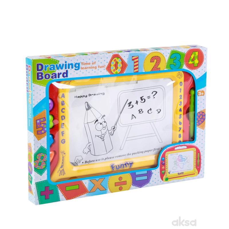 HK Mini igračka, tabla piši briši sa brojevima