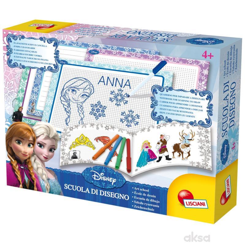 Lisciani Kreativni set škola dizajna Frozen