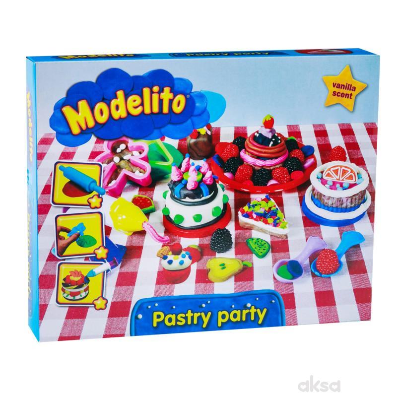 Modelito, plastelin set torta