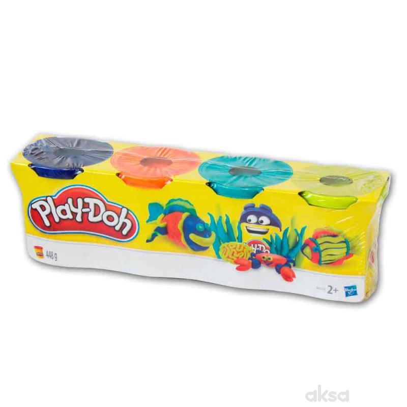 Play-doh plastelin 4 u pakovanju