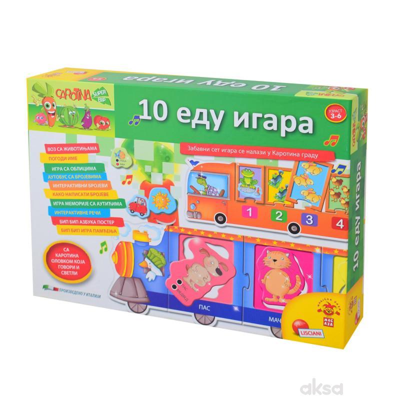 Carotina SR Edukativna igra pametna-10 Edu