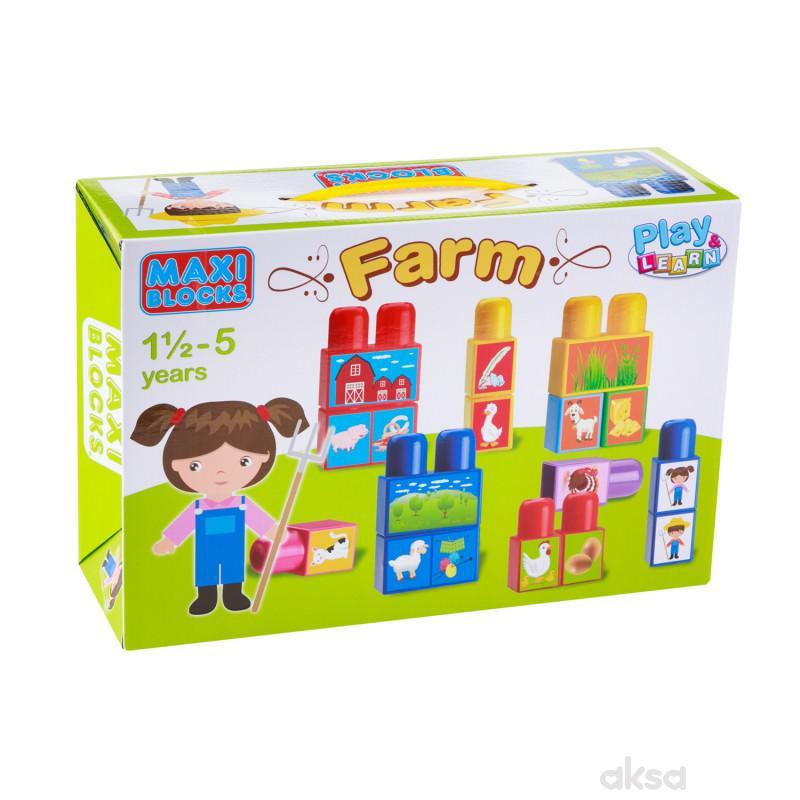 Dohany toys kocke - farma
