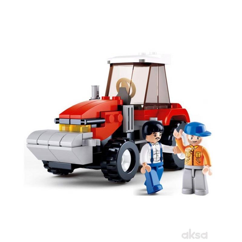 Sluban kocke, traktor