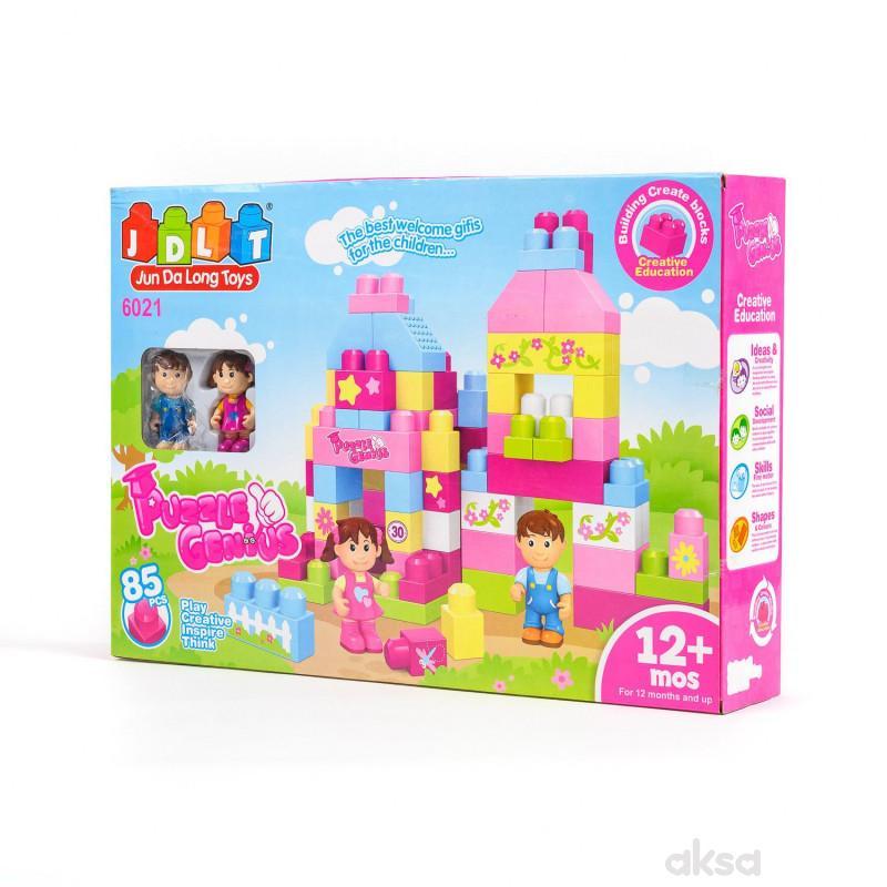 HK Mini kocke, dvorac, 85 delova