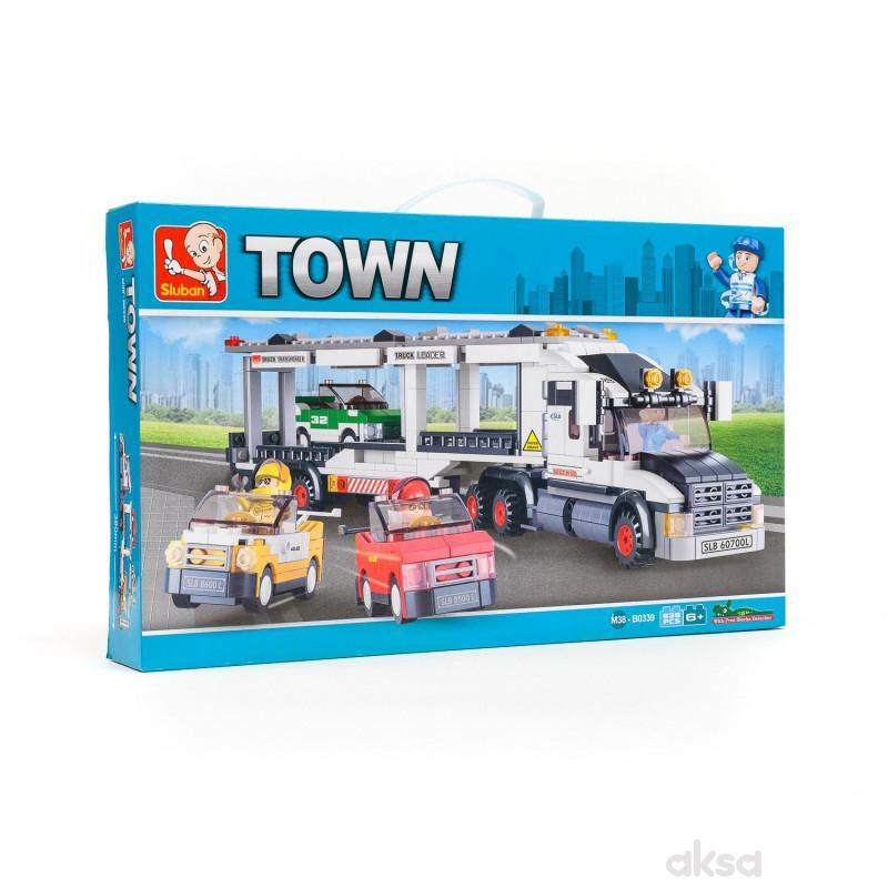 Sluban kocke, kamion transporter, 638 kom