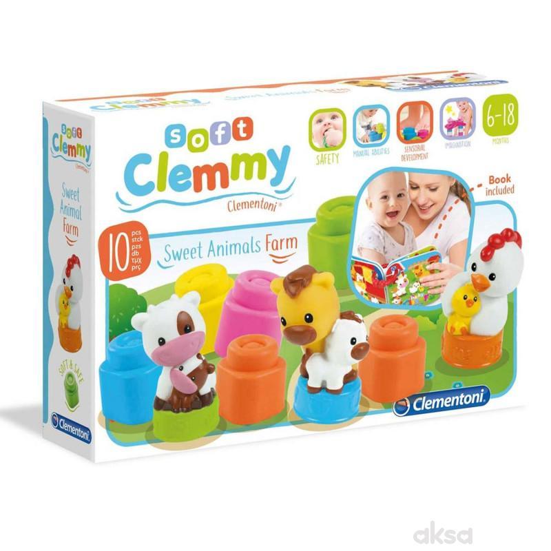 Clemmy baby kocke farma