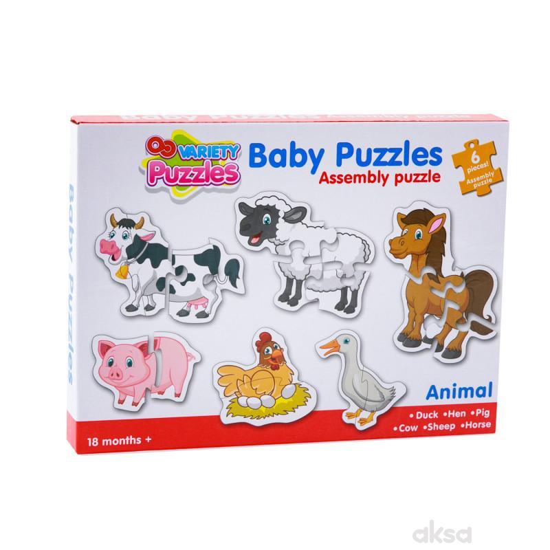HK Mini baby puzzle farma