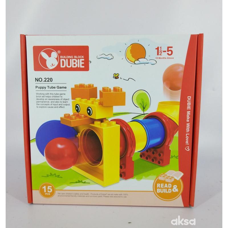 HK Mini igračka kocke kuca 15 delova