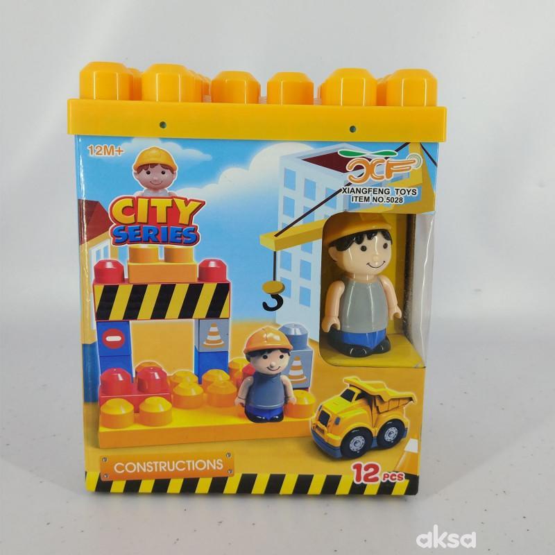 HK Mini baby kocke gradilište