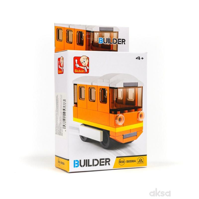 Sluban kocke, tramvaj, 59 kom