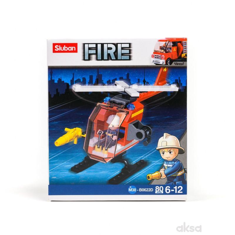 Şluban kocke, mali vatrogasni helikopter, 80 kom