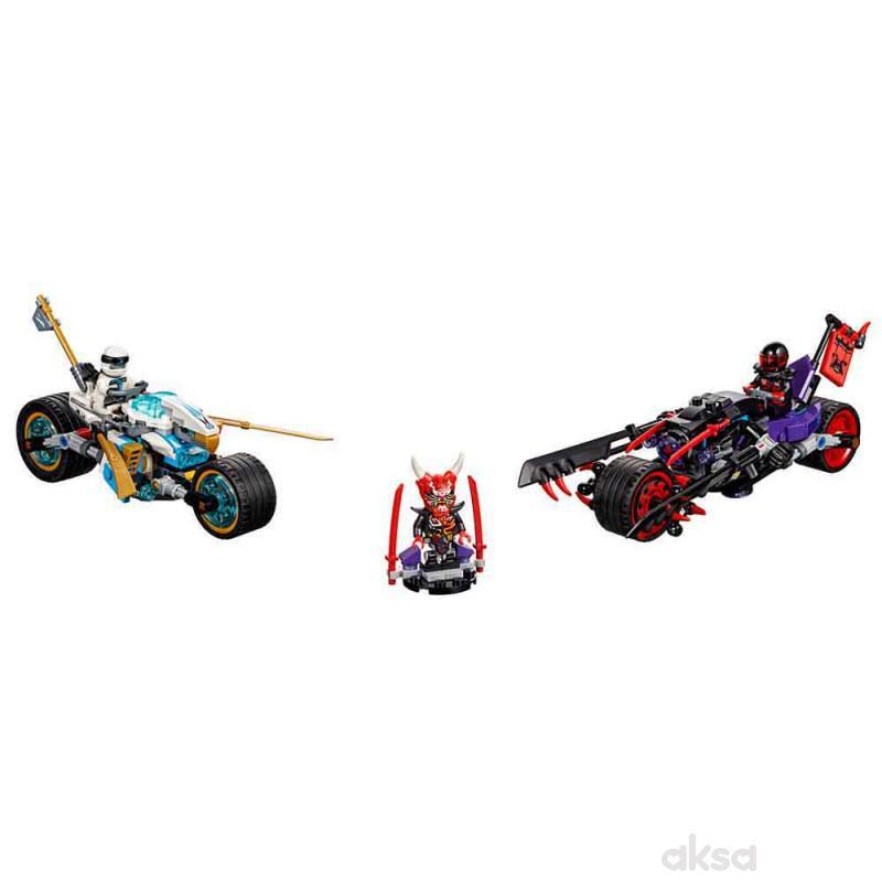 Lego Ninjago street race of snake jaguar
