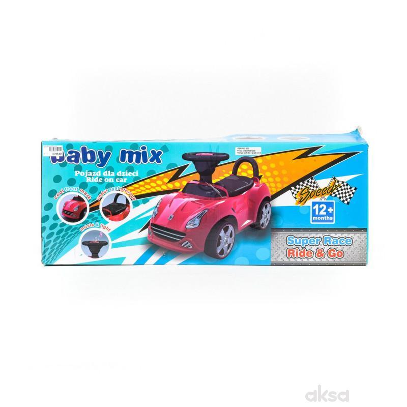 Baby Mix guralica autić - crvena