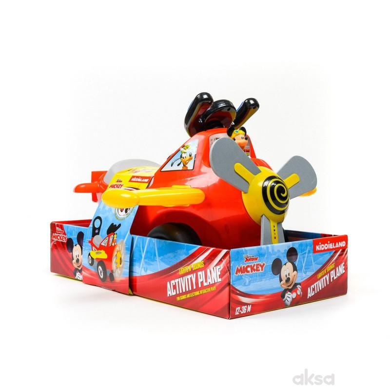 Kiddieland guralica Mickey aviončić