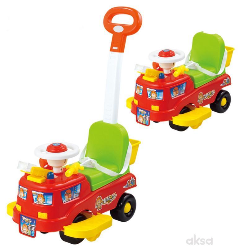 Hk Mini guralica baby auto 2 u 1, sa muzikom